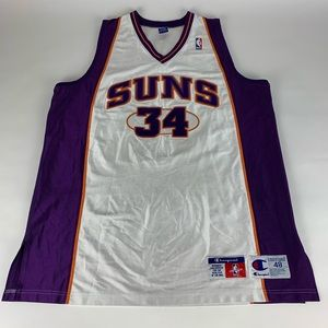 Phoenix Suns NBA Authentic Champion #34 Jersey